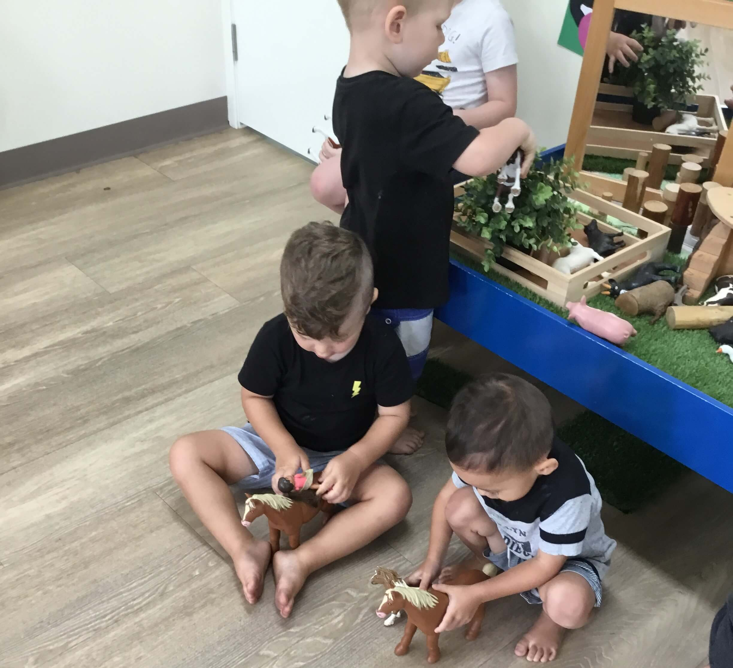 The children who attend our Borobi Studio (children aged 2-3 years of age) have recently shown a great interest in farm animals. As we listen to them playing with the horses and cows, we can hear lots of conversations taking place with the occasional animal noise being made. Our educators are guided by the The […]