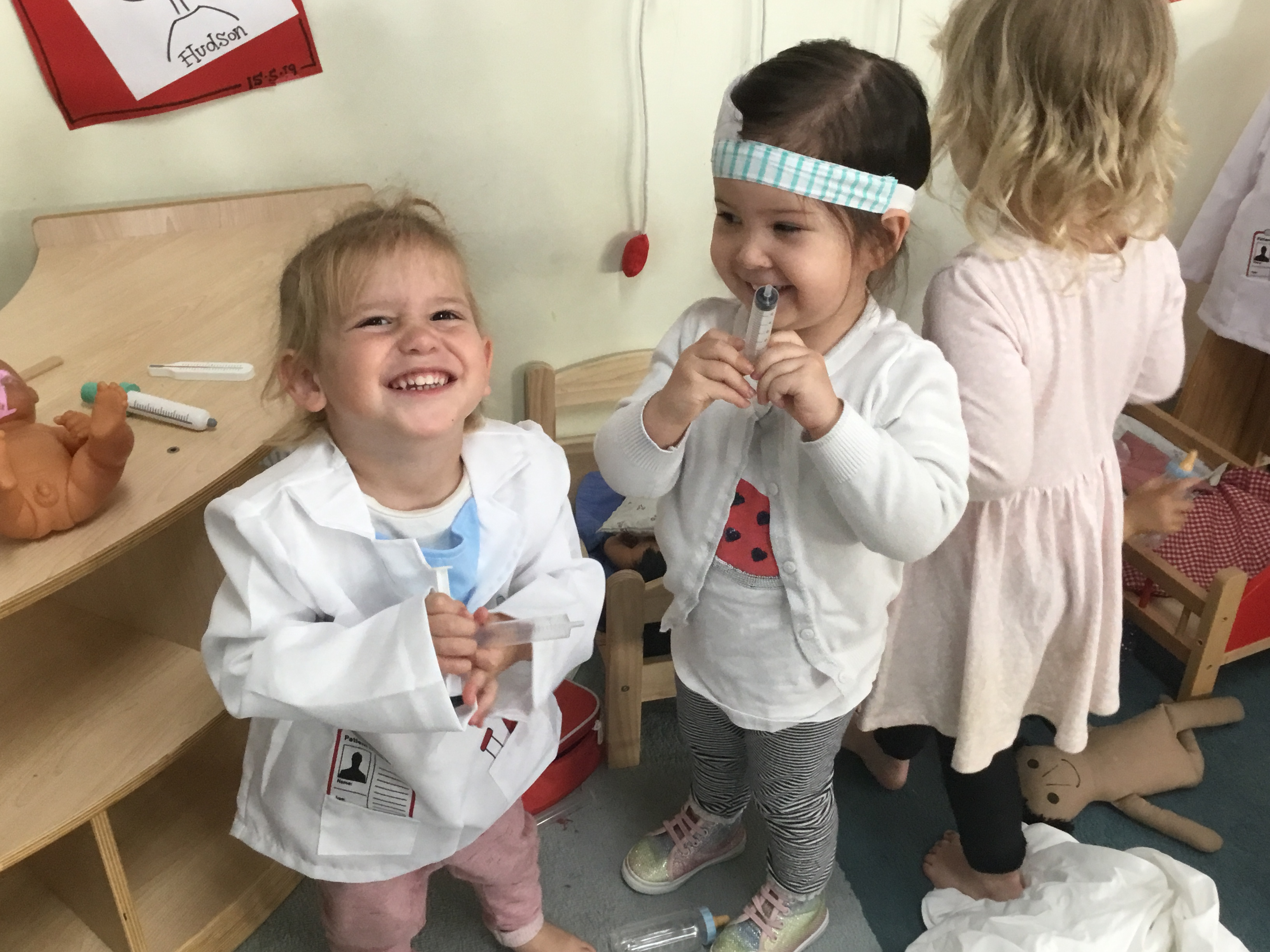 You may have seen our post yesterday about the importance of the learning environment in providing provocation, stimulation and wonderment. Again today in our Borobi Studio, the children had so much fun in Borobi's Hospital.  After morning tea, not one child could be found in any other area of the studio – they were all […]
