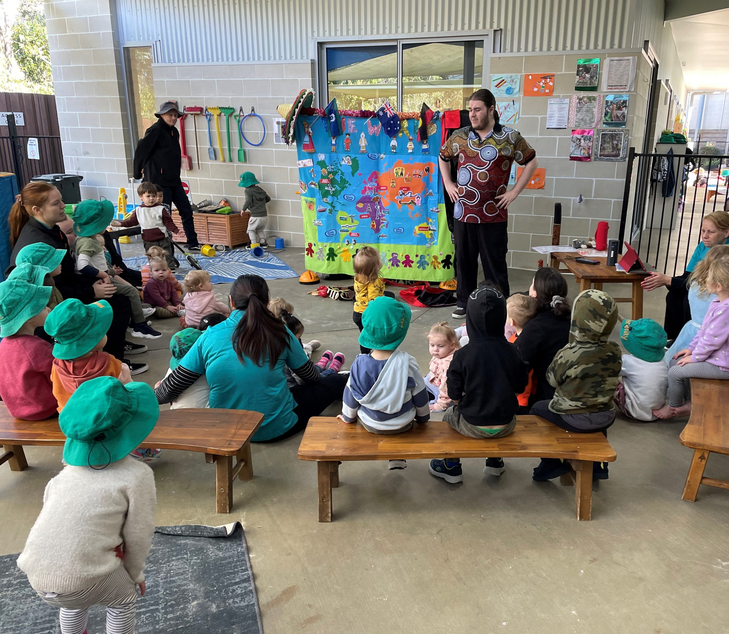 Creative Minds Early Learning Centre has started off NAIDOC week with a fantastic educational show called 'Our Aboriginal Ancestors and Us'. The show educated us on the following NAIDOC themed information: We started with an Aboriginal welcome dance for all the children to do. We then payed respects and acknowledgement to our ancestors and original […]